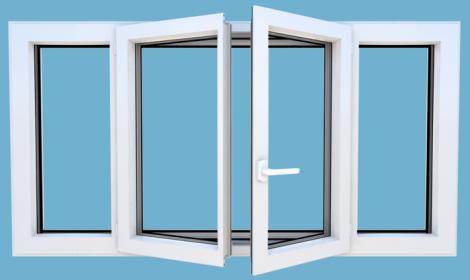Easy Windoor : Fenêtre à la française