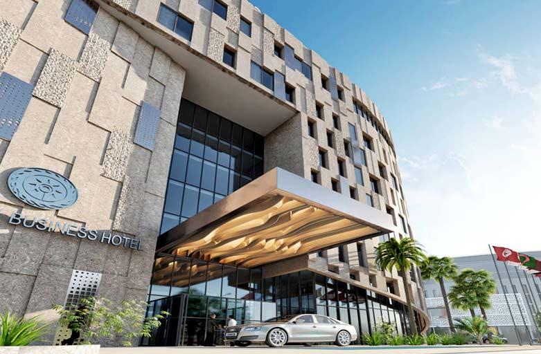 Projet Swiss hôtel ASBU au centre urbain nord - tunis